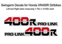 Swingarm Decals Honda CR500 CR250 CR125 XR650 XR600 XR400 XR350 XR250 XR200 #9