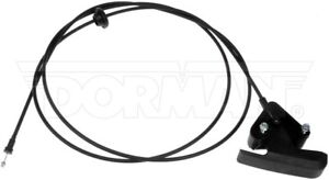 DODGE 94-05 RAM 1500 2500 3500 HOOD RELEASE CABLE WITH HANDLE 912-086