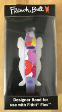NEW French Bull Designer Band for Fitbit Flex Lavender Purple Strap Floral NIB
