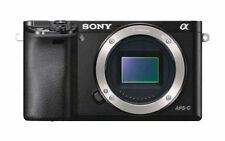 Sony Alpha ILCE-6000 24.3 MP Digitalkamera - Schwarz (Nur Gehäuse)