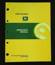 Originale 1989 John Deere 4435 Combinare Operatori Manuale Molto Carino