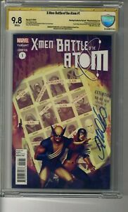 X-Men Battle of the Atom # 1 Hastings Error  CBCS 9.8 White Pages - SS Frank Cho