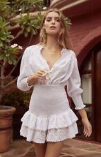 The Jetset Diaries Highway Star Mini White Dress Size XS Brand New