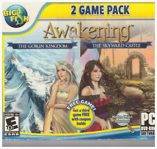 PC Big Fish 2 Game Pack DVD Awakening Goblin Kingdom Skyward Castle Hidden Objec