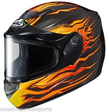 HJC Cs-r2 Full Face Motorcycle Helmet Gloss Solid Black Small