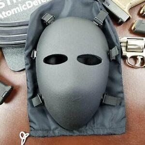 Bulletproof Mask | Ballistic Full Face | Level IIIA+ | Padded | Milspec ✅
