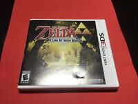 The Legend of Zelda: A Link Between Worlds Nintendo 3DS TESTED Original Case