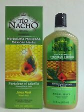 TIO NACHO MEXICAN HERBS HERBOLARIA HERBAL MEXICANA Shampoo , cre-c,crece