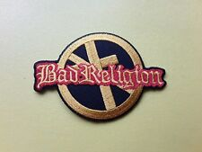 POP, ROCK, PUNK, METAL MUSIC SEW ON & IRON ON PATCH:- BAD RELIGION