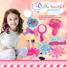 Little Girls Make Up Case Cosmetic Set Pretend Play Kids Beauty Salon Toy Gift
