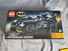 LEGO Batman 1989 Batmobile - Limited Edition (40433). Brand new. Sealed.