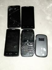 4 Zte Cell Phones *Parts Repair Untested* Different Carriers + 4g Mobile Hotspot