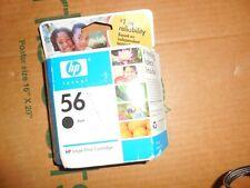Genuine HP 56 Black Ink Cartridge Inkjet Print NEW & SEALED ! Exp SALE