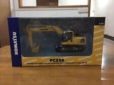 Komatsu PC220 Excavator 1:50 Scale Die-Cast Metal Model New in Box