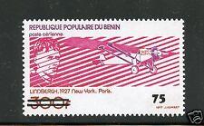 Benin MNH Single #C336 Lindburgh Spirit of St. Louis Stamp  Aviation
