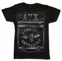 Avenged Sevenfold Case Black T Shirt New Official Adult A7X