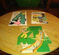 Vintage Birthday Cards For 4 Year Old