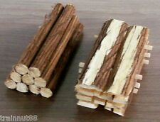HO-1~ROUGH CUT LUMBER & 1~9pc Log Ld-Fits the Classic Metal Works Flat Bed Trks