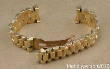 100% Authentic Rolex 20mm President 18K Solid Yellow Gold Bracelet 8385,55B End
