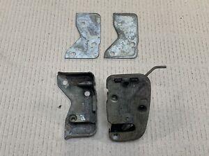 MGB (1965-68) LH DOOR LOCK, STRIKER PLATE & SHIMS