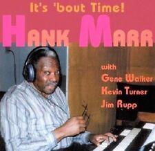 Sealed HANK MARR CD - IT'S 'BOUT TIME - DT Jazz, 1995  Kevin Turner, G. Walker