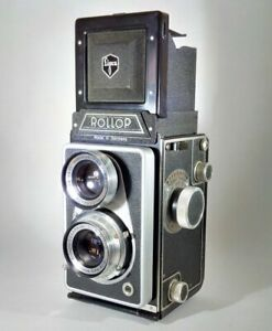 Lipca / Lippische Rollop II TLR Camera with Original Leather Case