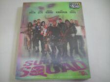 Suicide Squad 3D (2016) - Nova Media Lenticular Steelbook Blu-Ray | Novamedia