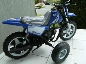 Minibike Training wheels for Yamaha peewee 50 - PY50 - PW50