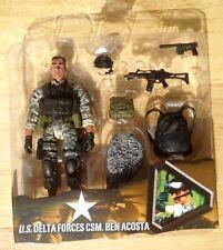 ULTIMATE SOLDIER 1/18 ELITE FORCE BBI UNIMAX OPEN CARD CSM. BEN ACOSTA