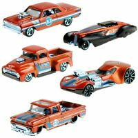 [Pre-Order] Orange and Blue Complete Set of 5 - Hot Wheels Basic (2021)