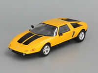 Mercedes-Benz C111 Gold 1970 Year 1/43 Scale Diecast Rare Collectible Model Car