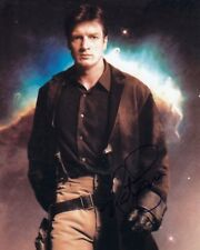 NATHAN FILLION signed Autogramm 20x25cm FIREFLY in Person autograph COA SERENITY
