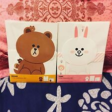 Korea LINE Friends Brown Cony Letter Stationery Paper Set Mascot Gift