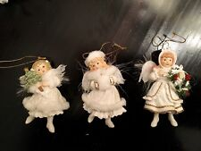 Ashton Drake Collectible Christmas angel ornaments