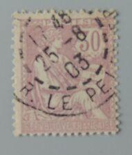 France 1902 128 Mouchon YT128 oblitéré cote 20 euros