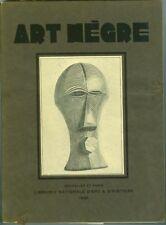 Art nègre Exposition Musée des Beaux arts Bruxelles 1930