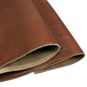 Tree Brown Cowhide Brown Leather for Tooling Holsters Knife Sheaf Crafting 5-6oz