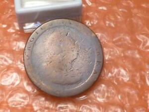 Original 1797 George III Colonial Times Cartwheel Penny  #BB