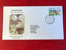 AZERBAIJAN 2005 FDC POPE JOHN PAUL II IN MEMORIAM