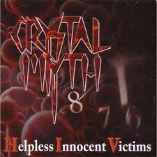 CRYSTAL MYTH-Helpless Innocent Victims CD Rare,Private Metal,Metal Church,Flotsa