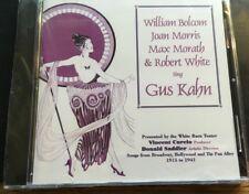 MORRIS BOLCOM AND MORATH - Sing Gus Khan - CD  NEW SEALED