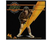 AC/DC high voltage album 2015 WOVEN SEW ON PATCH official merchandise ANGUS
