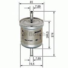 GENUINE OE BOSCH FUEL FILTER F5318- HAS VARIOUS COMPATIBILITIES