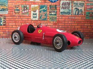 "Tonka Ferrari 500 1/16 9.60"" Metal Diecast Vintage Classic Race Sport Car Red"