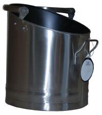 Coal Bucket Stainless Steel Coal Hod Holder Fireside Accessories Coal Basket