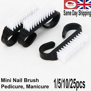 Mini Nail Brush Baby Manicure Pedicure Nail Art Tools Toiletries Nail Cleaning