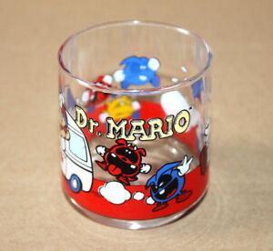 1993 Nintendo Dr. Mario World Land Yoshi Luigi Super Vintage Glass Motive 3