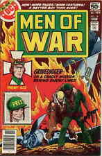 MEN OF WAR #10 F, Joe Kubert c., Dick Ayers art, Unknown Soldier, DC Comics 1978