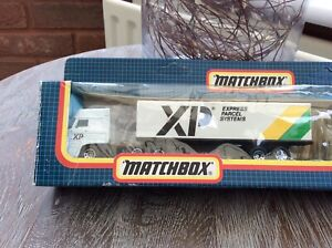 Matchbox Convoy TC4 XP express parcel systems Vehicle BOXED Vintage Very Rare