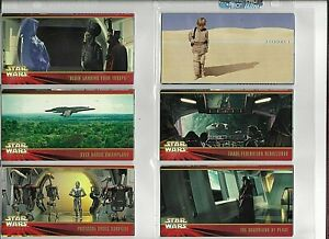Star Wars Episode 1 Complete Trading Card Set #1-80+21 Chase Cards/Liam Neeson